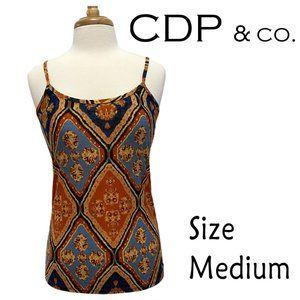 CDP & Co. Adjustable Strap Tank Top Size Medium